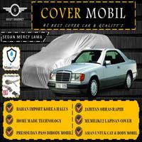 Selimut Sarung Body Cover Mobil Marcedez Benz Lama Free pengikat ban