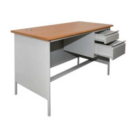 Meja Kantor Metal 120x60x75 cm ASLI INFORMA + ONGKIR & PACKING KAYU