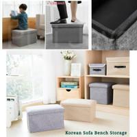 Sofa Bench Kursi Storage Box Kotak Penyimpanan / Multifunction Storage - 50x30x30cm