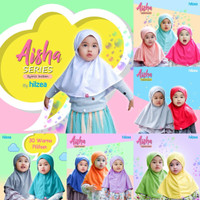 HILZEA Jilbab Anak Syiria Bergo Aisha 30 Pilihan warna termurah