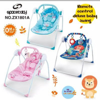 SPACE BABY BOUNCER REMOTE CONTROL DELUXE SWING SX1801A