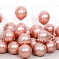 Balon Latex Chrome Rose Gold / Balon Metalik Chrome / Ballon Chrome