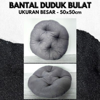 Polos Embos Grey, Bantal Duduk/Kualitas Premium Uk 50cm Big Size