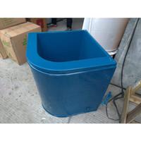 Bak Mandi / Bak Air Sudut Bahan PVC SINBAK - Biru Tua