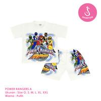 Baju Setelan Anak Laki-Laki Power Rangers Model A Shirton