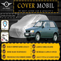 Selimut Sarung Body Cover Mobil Starlet Soluna Free pengikat ban