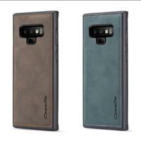 Caseme Original Leather Back Cover Case Samsung Galaxy Note 9 - Merah, Samsung Note 9