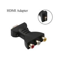 Adapter Converter HDMI to 3 RCA Video Audio AV Portable Fleksibel