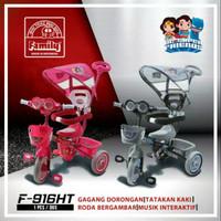 JNE,Sicepat - Sepeda Anak Roda Tiga Tricycle Family 916HT-Ride On