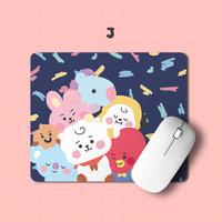 Mousepad Mouse pad Antislip Kotak Rectangle BABY BT21 Kpop BTS