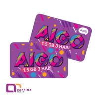 Voucher Axis Aigo 1.5 GB 3 Hari