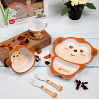 Babies First [Bamboo Fiber] Kids Feeding Set / Alat Makan Bayi 02