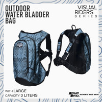 Tas Hydro Bag sepeda motor Outdoor Ultralight 3L PVR