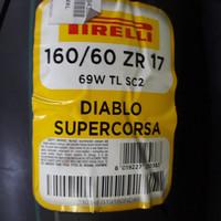 BAN PIRELLI DIABLO SUPERCORSA SC2 size 160/60 ZR 17