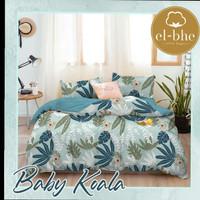 sprei dan bad cover motif baby koala 100X200x20