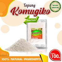 TEPUNG ORGANIK KOMUGIKO 100gr Bubur Bayi Sehat Organic Rice Flour