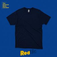 Reatic Kaos Polos Premium Ultrasoft Cotton Modal - Navy - S