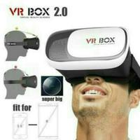 PROMO kacamata 3D VR 2.0 / VR box 2.0 3D reality google cardboard