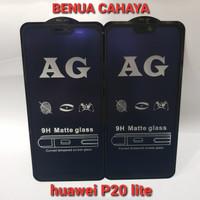 TEMPERED GLASS MATTE ANTI BLUE +ANTI GLARE HUAWEI P20 LITE