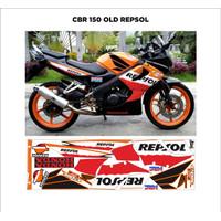 Striping Variasi CBR 150 Old Repsol
