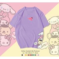 MINI HELLO KITTY T-Shirt / KAOS UK OVERSIZE FIT TO XL UNISEX TERMURAH