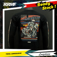 T-Shirt RRMF Official Trail Long Sleeve Baju Kaos Distro Pria Dewasa
