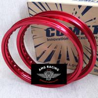 Velg Comet W Shape Ring 17 x 140 / 160 warna Merah Red