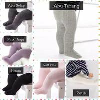 Celana Legging Polos Bayi Newborn Lejing Anak Cowok Cewek Impor Tebal