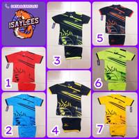 Baju Kaos Olahraga Anak-Anak Jersey Sepakbola Futsal Volly Badminton