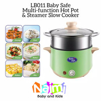 LB011 Baby Safe Multi-cooker Hot Pot Steamer Slow Cooker Babysafe