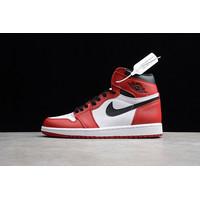 Sepatu Nike Air Jordan 1 BR Chicago Guaranteed Store Exclusive - Merah, 37
