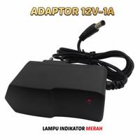 Adaptor Adapter Camera CCTV LED STB 12V 1A DC High Quality Premium
