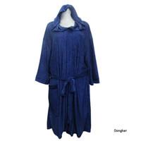 Handuk kimono bertudung dewasa handuk baju bertopi handuk berenang XXL