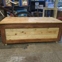 bangku kotak penyimpanan / bench storage / box tool
