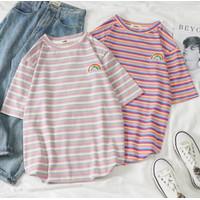 T Shirt Wanita Pria XXL Softball K POP Korea Yellow White