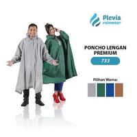 Jas Hujan Poncho Lengan Plevia PREMIUM 733 Motor Rain coat Batman