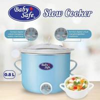 LB007 slow cooker digital baby safe