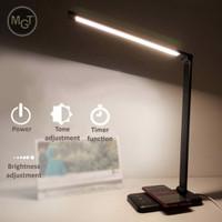 Lampu LED Meja Belajar USB lampu Baca Desk Lamp Baterai - Full Feature