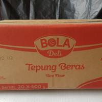 tepung beras bola deli 500gr - 1 DUS HARGA GROSIR