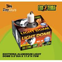 "Exoterra Aluminium Light Dome 5.5"" 75w / Exo Terra Fiting Lampu UVB"