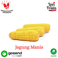 Jagung Manis Kupas Fresh 1 Kg 3 Pcs | Lovi Fruits