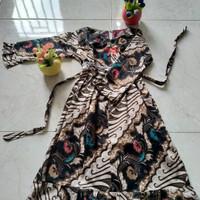 GAMIS BATIK Anak Perempuan Usia 2-5 Tahun Baju Muslim Anak Perempuan