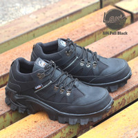 Sepatu Boots Nike Traking Delta Safety Boots Outdor Hiking Pria Boots - Hitam, 39