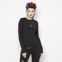 Baselayer Long Sleeve Baju Manset Waldos Ladies Wanita Sepeda Cycling