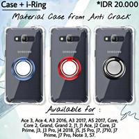 Case Samsung A5 Lama 2015 A500 Casing Anti Shock + i-Ring Holder Stand