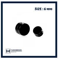 ANTING MAGNET HITAM / ANTING MAGNET TITANIUM / ANTING MAGNET PRIA 6 MM
