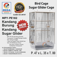 Kandang / Sangkar Burung Atau Sugar Glider Ukuran Besar MPY-PE182