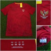 Jersey baju bola timnas Indonesia training merah 2021 grade ori