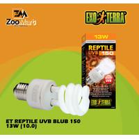 Exoterra Reptile UVB 150 13 w / Exo Terra Lampu UVB Reptil 13 Watt