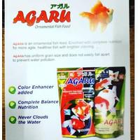 Pelet/Makanan/Pellet Ikan Hias 100gr AGARU no Takari/Asahi